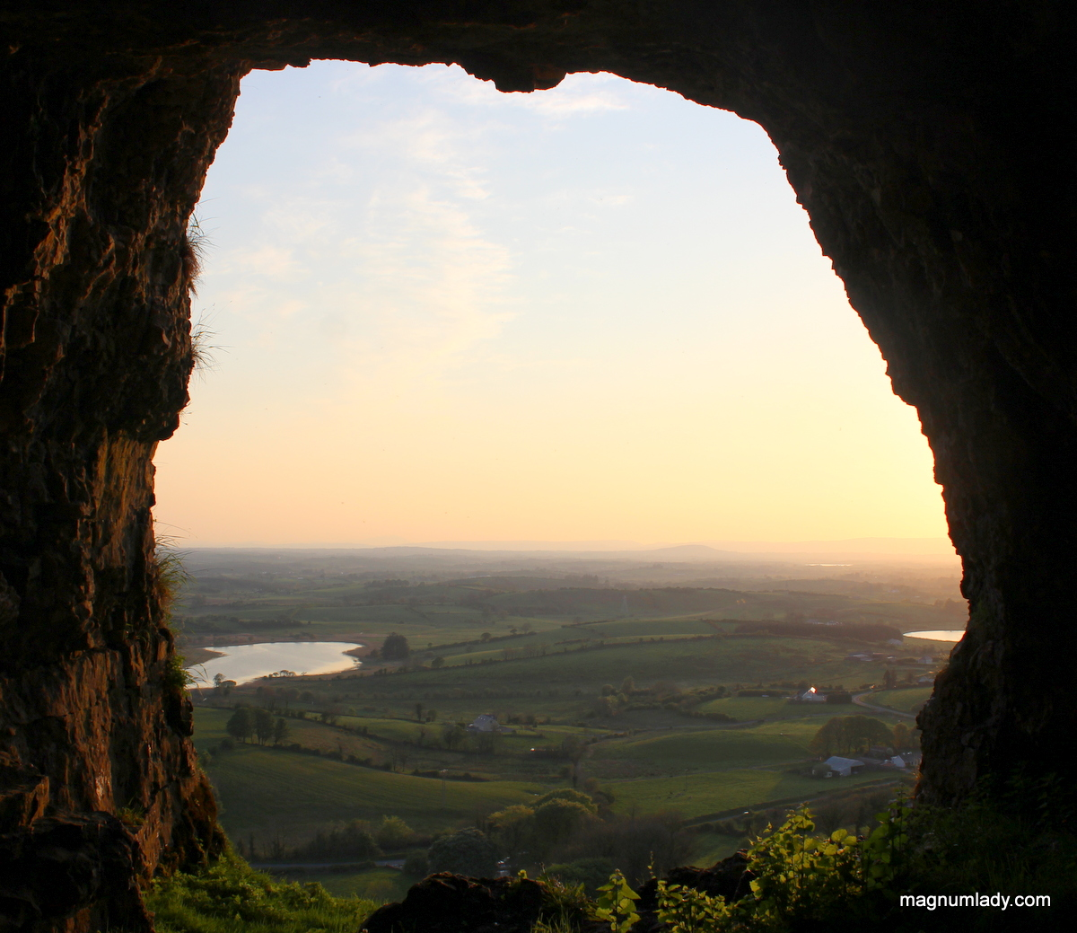 View from the Caves of Keash