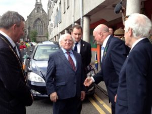 Presidents Higgins in Sligo
