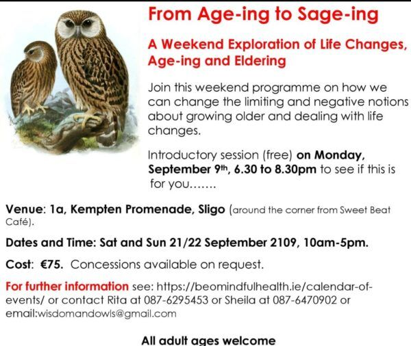 ageing to sageing poster