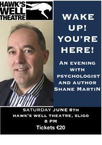 Shane Martin at Hawks Well Sligo