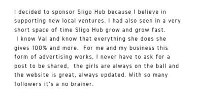 Mamogs Sligo Testimonial