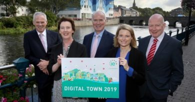 IE Domain Registry selects Sligo Town as Ireland's Digital Town 2019