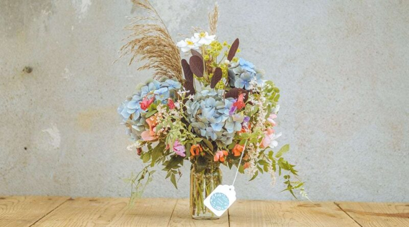 wild flower bouquet from sligo