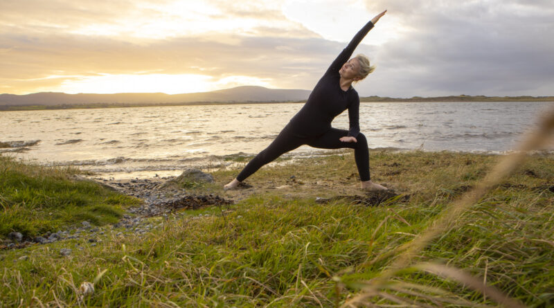 yoga on the beach sligo