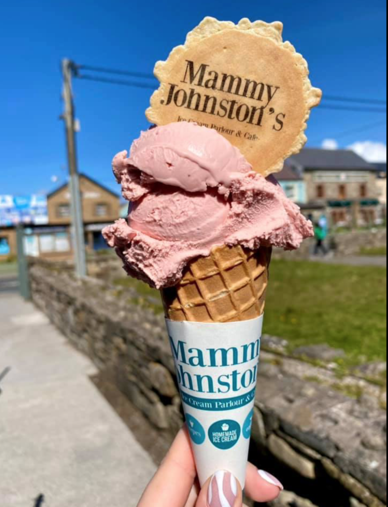 Ice Cream from Mammy Johnston's, Strandhill, Sligo