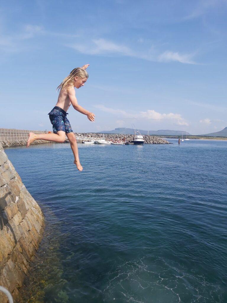 pier jump sligo